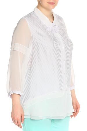 Блуза Terra. Цвет: сиреневый