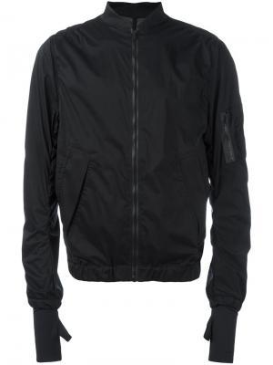 Куртка-бомбер Bombardier Satisfy. Цвет: чёрный