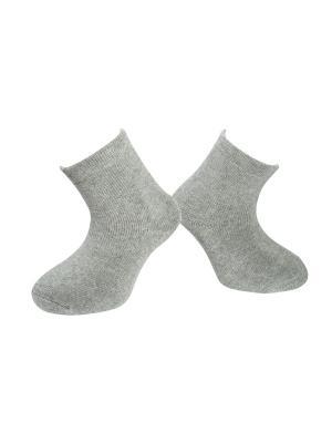 Носки махровые MilanKo. Цвет: светло-серый