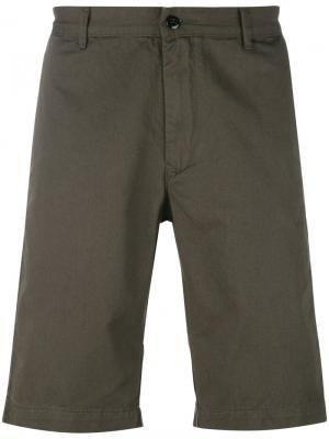 Джинсовая рубашка с короткими рукавами Bellerose. Цвет: зелёный