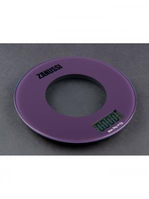 Кухонные весы Bologna, фиолетовый Zanussi. Цвет: фиолетовый