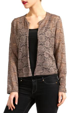 Блузка Isaco & Kawa. Цвет: light brown