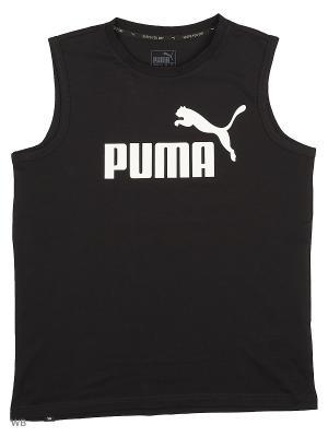 Майка ESS No.1 SL Tee Puma. Цвет: черный