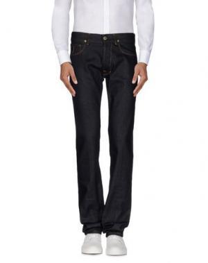 Джинсовые брюки APRIL 77. Цвет: синий