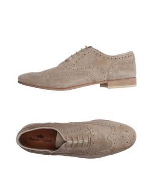 Обувь на шнурках DOMENICO TAGLIENTE. Цвет: бежевый