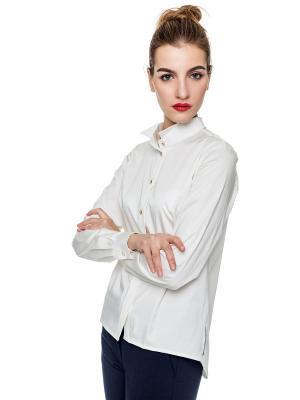 Блуза FASHION Stimage. Цвет: белый