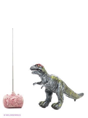 Динозавр (Нанотиранус) Amico. Цвет: светло-серый, красный, черный, салатовый