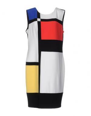 Платье до колена JOSEPH RIBKOFF. Цвет: красный