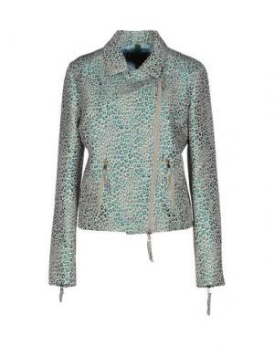 Куртка FEMME by MICHELE ROSSI. Цвет: небесно-голубой
