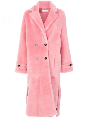 Пальто Blizzard Dorena Inès & Maréchal. Цвет: розовый и фиолетовый
