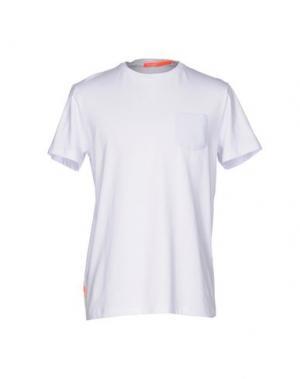 Футболка RRD. Цвет: белый