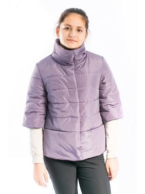 Куртка Вика Аксарт. Цвет: сиреневый