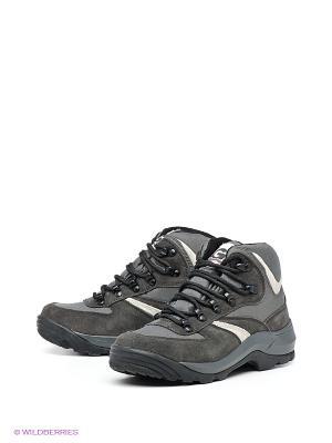 Спортивные ботинки Nova tour. Цвет: серый