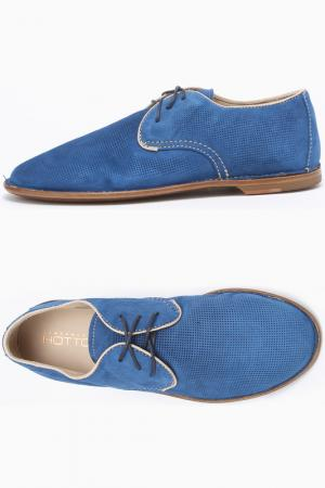 Ботинки Alexander Hotto. Цвет: голубой