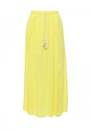 Юбка Phax. Цвет: желтый