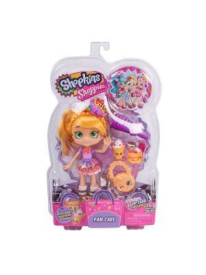 Кукла Шоппиес Shoppies Памкейк с аксессуарами Moose. Цвет: розовый