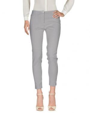 Повседневные брюки MARCELLO SANGIORGI. Цвет: серый