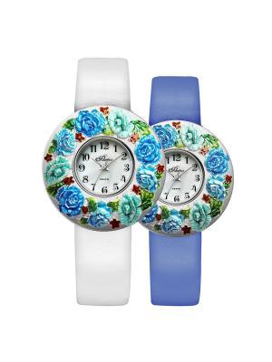 Часы Mikhail Moskvin. Цвет: лазурный, светло-голубой, серебристый