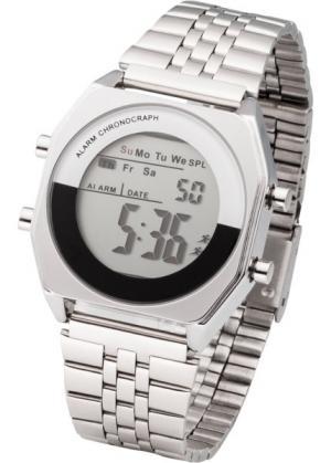 Часы (серебристый) bonprix. Цвет: серебристый