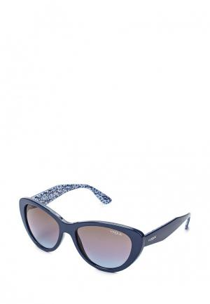 Очки солнцезащитные Vogue® Eyewear. Цвет: синий