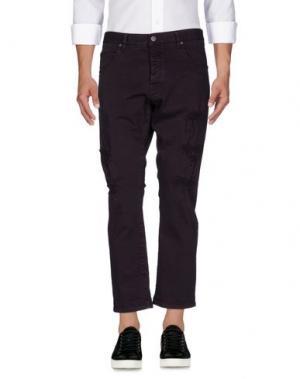 Джинсовые брюки 2W2M. Цвет: темно-фиолетовый