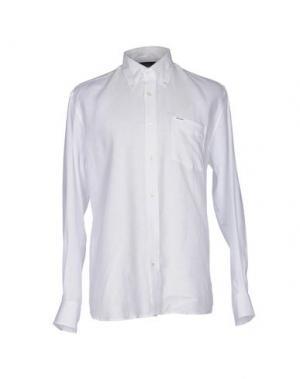 Pубашка FAÇONNABLE. Цвет: белый