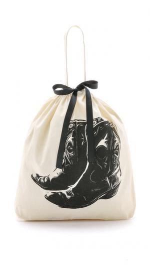 Сумка-органайзер с изображением ковбойских ботинок Bag-all