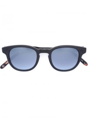 Солнцезащитные очки Warren Garrett Leight. Цвет: чёрный