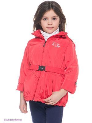 Куртка Goldy. Цвет: красный