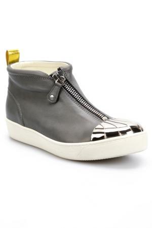 Ботинки Grey Mer. Цвет: grey, silver