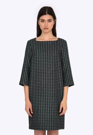 Платье Emka. Цвет: серый