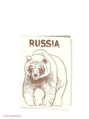 Обложка для документов Mitya Veselkov. Цвет: белый