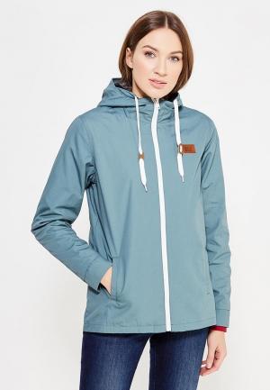 Куртка Billabong. Цвет: бирюзовый