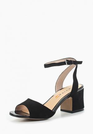 Босоножки Evita. Цвет: черный