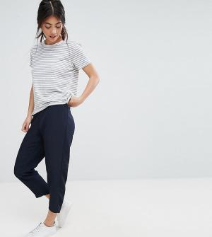 ASOS Petite Мягкие брюки-галифе. Цвет: темно-синий