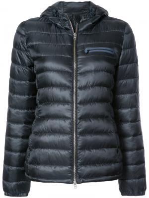 Классическая дутая куртка Closed. Цвет: синий