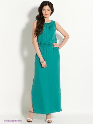 Платье Pompa. Цвет: бирюзовый