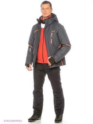Куртка High Experience. Цвет: темно-серый