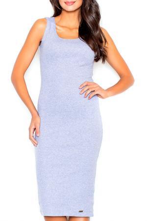 Платье Figl. Цвет: серый