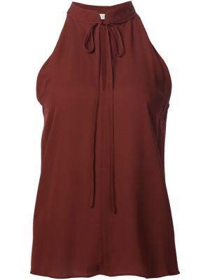 Блузка Ivy без рукавов A.L.C.. Цвет: красный
