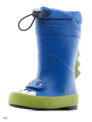 Резиновые сапоги Clarks. Цвет: голубой