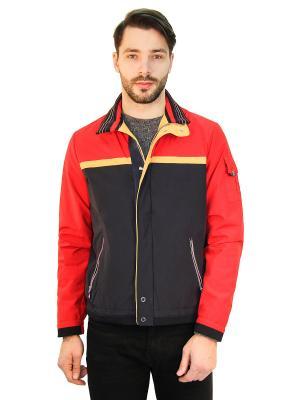 Куртка Scanndi. Цвет: красный