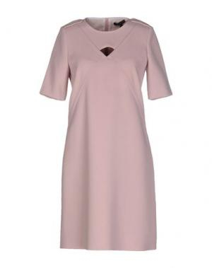 Короткое платье AXARA PARIS. Цвет: розовый