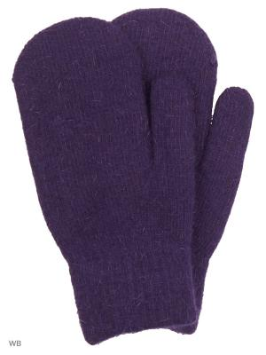 Варежки UFUS. Цвет: фиолетовый
