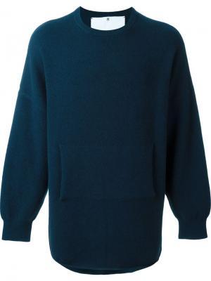 Свитер No. 3 Crew Extreme Cashmere. Цвет: синий