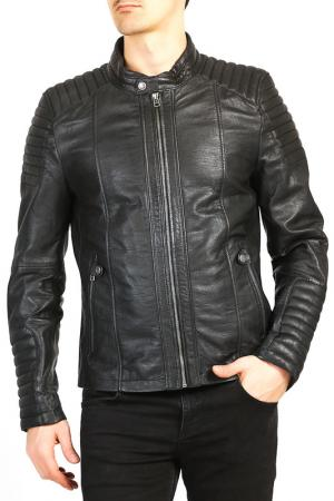Куртка Isaco & Kawa. Цвет: black