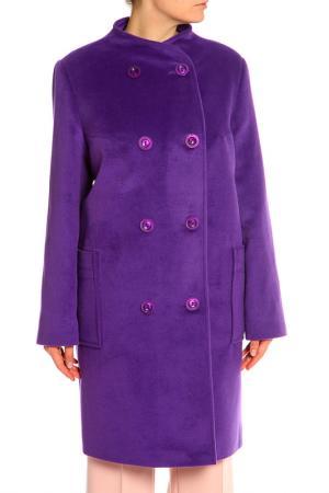 Пальто Фантазия+. Цвет: сиреневый