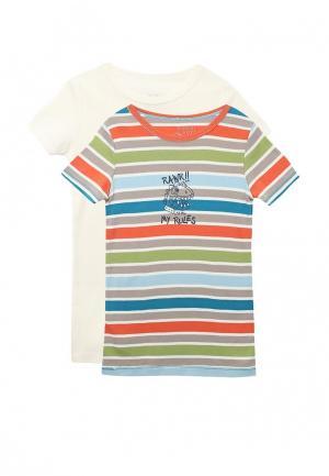 Комплект футболок 2 шт. Boboli. Цвет: разноцветный
