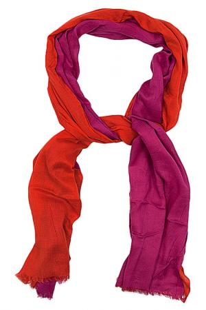 Шарф U.S. Polo Assn.. Цвет: рыжий, фуксия