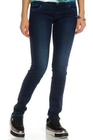Джинсы Trussardi Jeans. Цвет: темно-синий